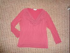 MARKS&SPENCER-LADIES T-SHIRT TOP SIZE 18 SMART PARTY WORK FORMAL STRETCH XMAS