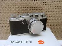 "Leitz Wetzlar - Leica IIf Kit Summitar 2/5cm ""intaktes Sammlerstück"" - TOP!"