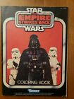 1982 KENNER *STAR WARS THE EMPIRE STRIKES BACK* COLORING BOOK! (NM)
