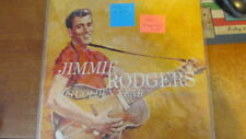 JIMMIE RODGERS, HIS GOLDEN YEAR; 12 TRACK LP, AUTOGRAPHED