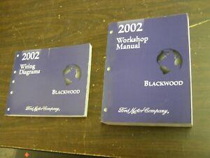 OEM 2002 Lincoln Blackwood Truck Pickup Shop Manual Book + Wiring Diagram NOS