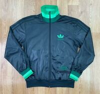 ADIDAS Mens CHILE 62 Track Jacket | Casuals Trefoil Sport | Small S Black
