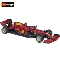 Bburago 1:43 F1 2020 Ferrari SF1000 #16 Charles Leclerc Diecast Car Model