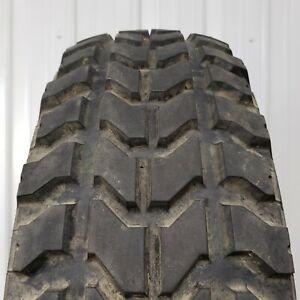 "Goodyear Wrangler MT oz 37"" 12.5R16.5 Military Humvee Mud Truck Tires 90%+ Tread"