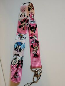 Minnie Mouse Pink Shade Lanyard
