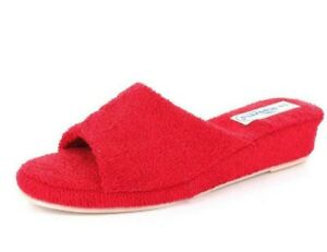 Slippers-Slippers La Riposella 200 Sponge Red Washable IN Washing Machine