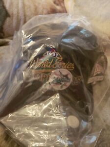 Vintage Florida Marlins 1997 World Series Champions New Era Snapback Hat MLB