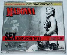 MADONNA - SEX BOOK MOVIE - 90 - 93 - CD & DVD SET - EROTICA - GIRLIE SHOW - LIVE