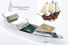 3D Novelty Cake Baking Tins and Pans | Pirate Ship Cake Shape
