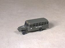 N Scale Military WW2 US Army OD Bus
