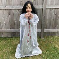Spirit Halloween Animated 4ft Life-Size Rosemary Zombie Girl - Tekky 2011-15