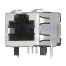 1pcs 1-406541-1 Presa RJ45 PIN 8 Cat 5 schermate Sist.usc 8p8c THT per PCB TE Co