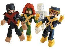 Marvel Minimates Exclusive 4-Pack X-Factor Cyclops, Jean Grey, Iceman & Beast
