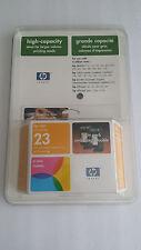 HP Inkjet Cartridge Twin Pack  Tricolor #23