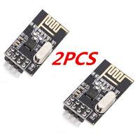 2 PCS Arduino NRF24L01+ 2.4GHz Wireless RF Transceivers Modules New Convenient