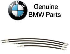 For BMW Vertical Seat Back Adjustment Cable Driveshaft Set Front E38 E39 750il