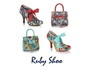 Ruby Shoo Willow Lace Up Occasion Weddings SOLD OUT OF BAGS