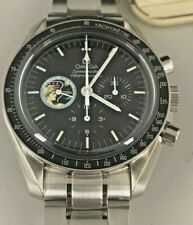 Omega Speedmaster Moon Watch Missions Apollo 17 w rare Missions moon box & book