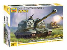 1/72 Russian 152-mm howitzer MSTA-S (Zvezda)