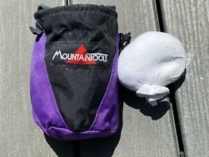 Vintage Chalk Bag Mountain Tools Defunct California Climbing Company Chalk Ball