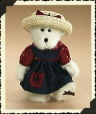 Boyds Plush Bear Becca B. Starlsey, 8 Inches H, Patriotic, New with Tag, 904523