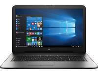 "HP 17.3"" Laptop Intel Core i3 6th Gen 6100U (2.30 GHz) 1 TB HDD 6 GB Memory"