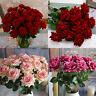 Samt Rose Seiden Blumen Blätter-Artificial Startseite Hochzeit Brautstrauß N9T2
