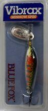 Rapala Blue Fox VMS3RT Vibrax Minnow Spin Rainbow Trout Silver Fishing Lure QTY3