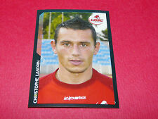 27 CHRISTOPHE LANDRIN LILLE OSC LOSC DOGUES PANINI FOOTBALL SUPER FOOT 2005 2006
