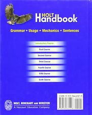 Holt Handbook: Student Edition Introductory Course 2003 1st Edition