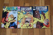 "FIRESTORM ""THE NUCLEAR MAN"" EDEN PART 1 -3 . Issues 77 78 79 (2)"