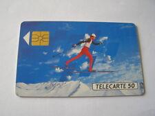 telecarte ski de fond 50u ref phonecote F205B