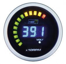 Raid hp Digital Blau Drehzahlmesser Diesel/Benzin Anzeige Zusatzinstrument 52mm