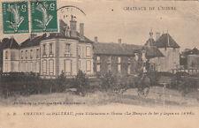 PALTEAU château édition chocolaterie d'aiguebelle timbrée