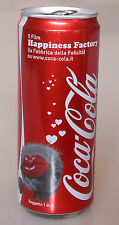 PRL) COCA COLA LATTINA 330 ML FILM HAPPINESS FACTORY COLLEZIONE TIN COLLECTION