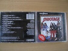 BLACK SABBATH Sabotage (RARE CASTLE 1st PRESS) Ozzy Osbourne, Led Zeppelin, DIO