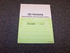2007-2008 Toyota Camry Solara Convertible Service Collision Damage Repair Manual