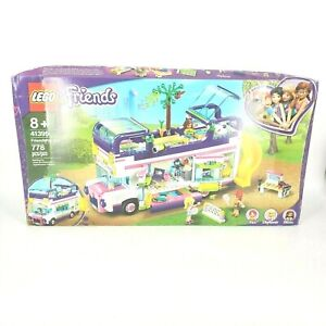 LEGO Friends Friendship Bus 41395 Toy Playset Building Gift Kit Ages 8+ 778 Pcs