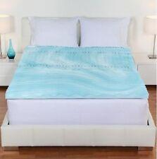 "Gel Pad Cover 2"" Cal King Size Firm Bed Orthopedic Foam Mattress Topper Sleep"