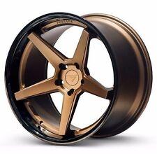 "20"" Ferrada FR3 Matte Bronze 20x9 Concave Wheels for Lexus ES300H 2004-2014"