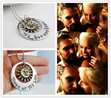 Game of Thrones Jewelry , My Sun And Stars Necklace, Moon Of My Life Necklace