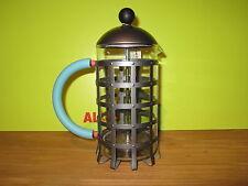 ALESSI *NEW* Cafetière presso-filtre noir 72cl H.24cm