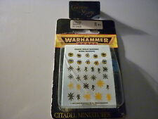 WARHAMMER 40000 - Decalcos Marine du Chaos OOP! *NEW*