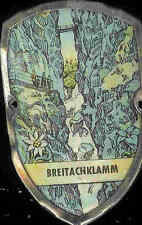 Breitachklamm hiking medallion stocknagel shield badge G1481