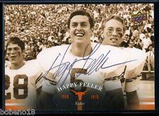 Happy Feller signed autographed AUTO 2011 UD University of Texans Longhorns 20