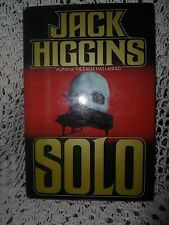 Solo by Jack Higgins (1980, Hardcover)