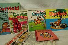 lot old books Garfield book treasury second fourth Great Comic Cats photo album
