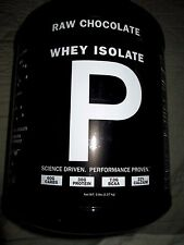 PROMIX Raw Chocolate California Grass Fed Whey Protein Isolate 5 Pound Container