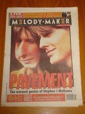 MELODY MAKER 1994 FEBRUARY 12 PAVEMENT SOUND GARDEN PUMPKINS