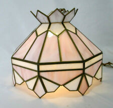 Stained Glass Hanging Pendant Light / Lamp / Ceiling Fixture Tiffany Style